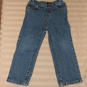 4T straight leg jeans by the children's place